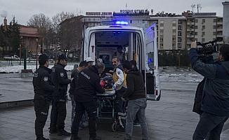 Ördüğü duvarın altında kalan işçi yaralandı