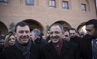 Özhaseki seçim çalışmalarına Hacı Bayram'dan başladı