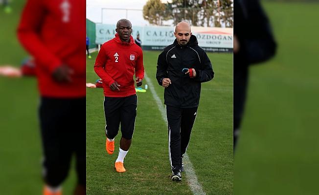 Sivasspor'da ikinci yarı hazırlıkları