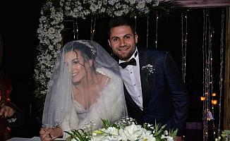 Sivassporlu kaleci Ali Şaşal Vural evlendi