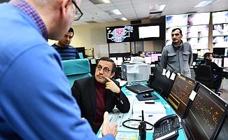 Tuzcuoğlu, Kızılay-Sincan Metro Hattı'nda incelemelerde bulundu