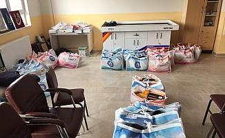 Ulaş'ta ihtiyaç sahibi öğrencilere giyecek yardımı yapıldı