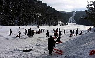 Yıldıztepe'de yeni yıl tatili yoğunluğu