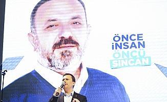 AK Parti'nin Sincan Proje Tanıtım Toplantısı