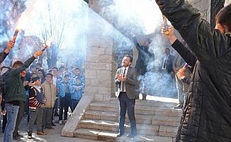 Başkan Oğuz, Abdülhamid Han Bilgehanesi'nde gençlerle buluştu