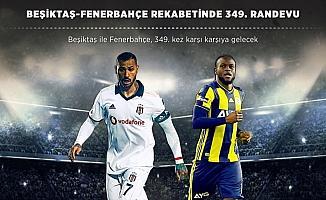 Beşiktaş-Fenerbahçe rekabetinde 349. randevu