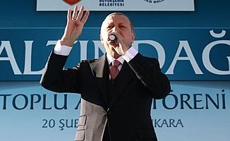 Cumhurbaşkanı Erdoğan: Bizi en çok yaralayan CHP'nin Rumların ağzıyla konuşması