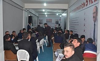 Karapınar'da Cumhur İttifakı çalışmalarını sürdürüyor