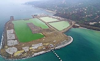 Rize-Artvin Havalimanı'nın yüzde 22'si tamamlandı