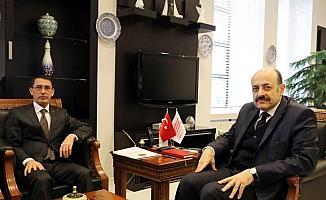 Saraç, Türkmenistan Büyükelçisiyle görüştü