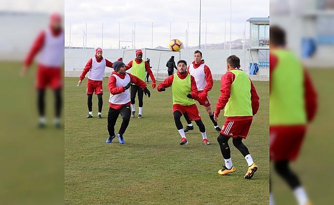 Sivasspor'da Antalyaspor maçı hazırlıkları