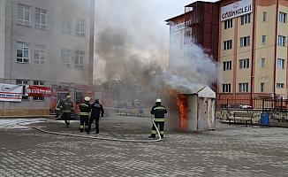 Sivas'ta acil durum tatbikatı