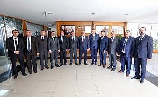 STK'lardan Başkan Aydın'a ziyaret