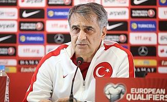 A Milli Futbol Takımı Teknik Direktörü Güneş: Avrupa Şampiyonası için bir adım daha atacağız