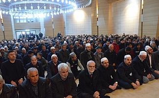 Ahmet Yesevi Camisi ibadete açıldı