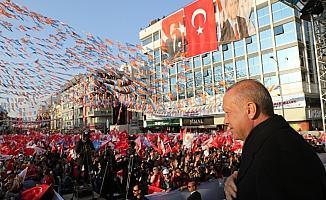 AK Parti'nin Uşak mitingi