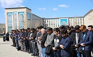 AYBÜ öğrencileri, Yeni Zelanda'daki terör saldırısını protesto etti