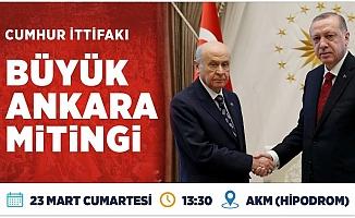 Büyük Ankara Mitingi...