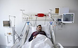 Çalıştığı hastanede kriz geçirdi, hipotermi ile hayata döndü