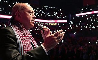 Cumhurbaşkanı Erdoğan: Ayasofya'yı aslına rücu ettiririz