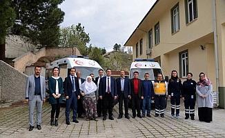Mihalgazi'de ambulans teslim töreni
