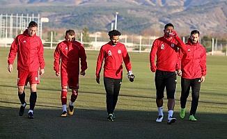 Sivasspor'da hedef Kayserispor galibiyeti