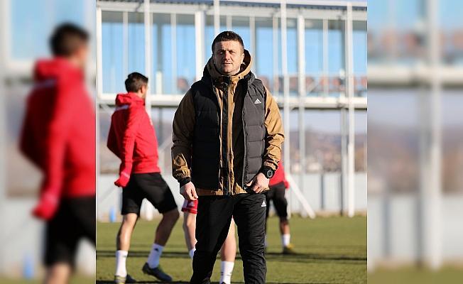 Sivasspor'da, Kayserispor maçı hazırlıkları