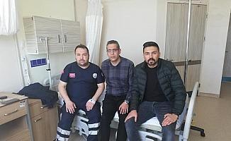 Sivas'ta sağlık personelinin darbedildiği iddiası
