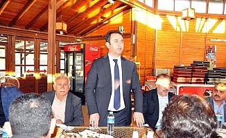 Sorgun Belediye Başkanı Gürbüz'den veda yemeği