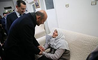 Soylu'dan şehit ailesine ziyaret