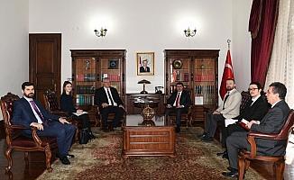 Ukrayna Büyükelçisinden Vali Şahin'e ziyaret