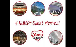Yenimahalle'ye 4 Kültür Sanat Merkezi