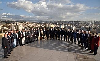 Balcı, yeni meclis üyeleriyle bir araya geldi