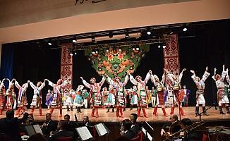 Başkentte Ukrayna dans gösterisi