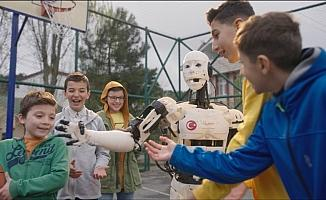 Çocuklar, Anadolu'da zeka gücü ile geleceğin robotlarını tasarlıyor