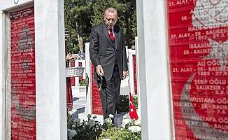 Cumhurbaşkanı Erdoğan: Ortak acıları barışın aracı haline dönüştürmede Çanakkale örnek olmalı