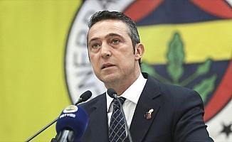 Fenerbahçe Kulübü Başkanı Koç: Bir Galatasaraylı kulübe 500 bin lira bağış yaptı