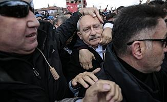 Kılıçdaroğlu'na saldırı
