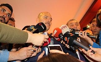 """İçişleri Bakanı Soylu: """"Küçükçekmece'yle ilgili iyi bir çalışma yapıldı ve fail yakalandı"""""""