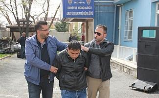 Konya'da Suriyeli gencin bıçaklanması