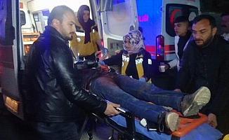 Suriyeli genç yol kenarında bıçakla yaralanmış bulundu
