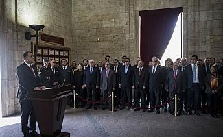 Taşdelen'den Anıtkabir ziyareti