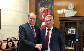AB Büyükelçisi Berger Sivas'ta