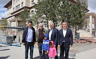 AK Parti Sivas Milletvekili Soluk, Zara'da