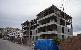 Ankara'da inşaattan düşen işçi öldü