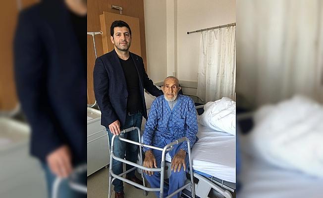 Beyşehir'de 101 yaşındaki hastaya kalça ameliyatı
