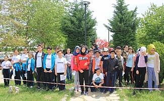 Beyşehir'de oryantiring yarışları