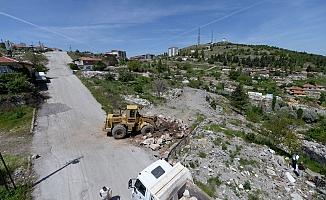 CİNDERESİ'NDE ÇALIŞMALAR BAŞLADI