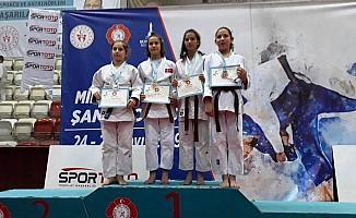 Çubuk'ta judocu Tuana Gülenay'ın başarısı