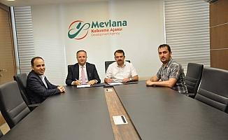 Derebucak'ta destek gören proje imzalandı